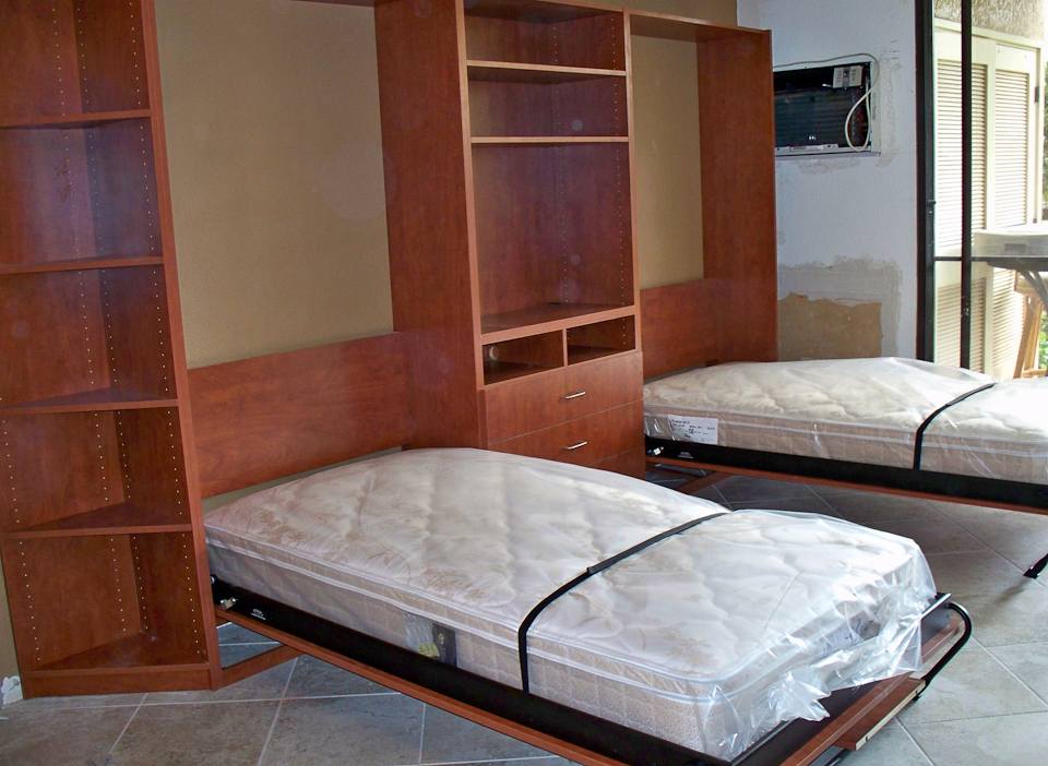 Twin Wall Beds Maui Closet Company